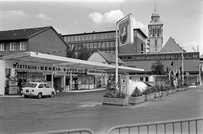 Tankstelle 1970
