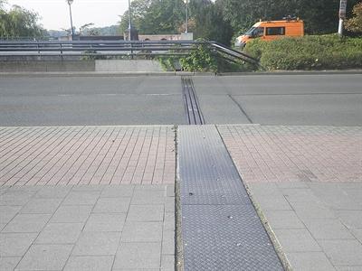 Torminbrücke Übergangskonstruktion