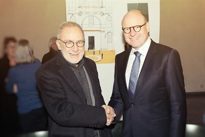 Gerhard Richter und Markus Lewe