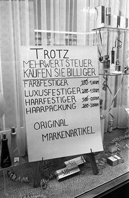 Münster 1968 - Mehrwertsteuer