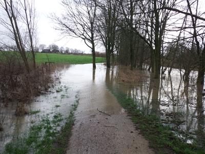 Hochwasser - Ramertsweg