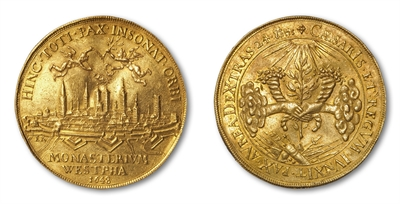 Goldmedaille 1648