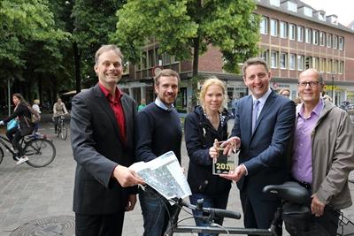 Auszeichnung Fahrradregion-Pendler