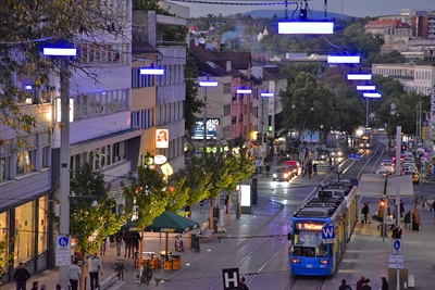 Neue Beleuchtung Untere Königssstraße/Bild 5