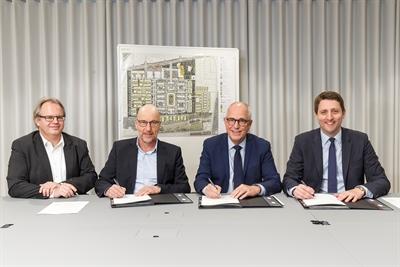Vertragsunterzeichnung mit NRW.URBAN