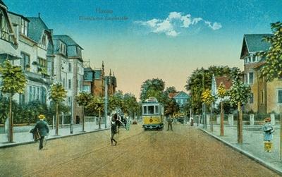 ©  - Straßenbahn Frankfurter Landstraße