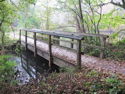 Brücke Wersewanderweg Ostseite