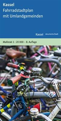 Vorschauversion, Titelseite der Neuauflage des Fahrradstadtplans