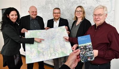 Vorschauversion, Präsentation des neuen Fahrradstadtplans
