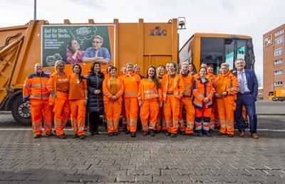 Müllwerkerinnen in Berlin