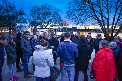 Rundgang über Bremer Platz