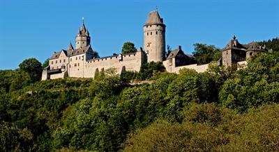 ©  - Bei heißem und sonnigem Wetter kamen weniger Besucher in die Burg Altena. Sie gehört aber weiterhin zu den meistbesuchten Museen in Westfalen. Foto: Museen des Märkischen Kreises