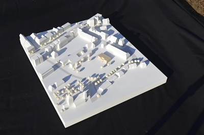 Modell Erweiterungsbau