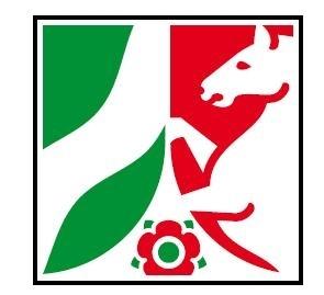 Das Wappen des Landes NRW
