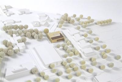 Modell Erweiterung Mosaik-Schule