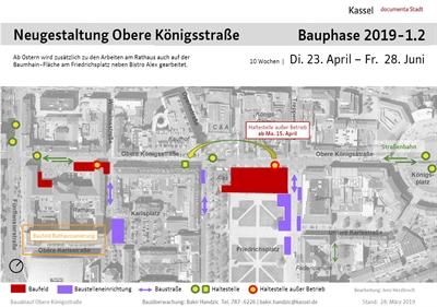 © Stadt Kassel - Bauphasenplan Königsstraße