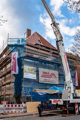Baustellen-Führung im Geistviertel