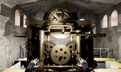 © Münsterland e.V. - Dampfhaspel in digitaler Form