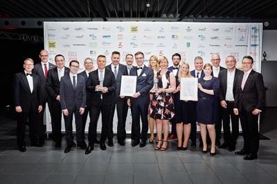 © WFL GmbH - Die Gewinner, Veranstalter und die Jury der dritten Lippstädter Innovationspreise.