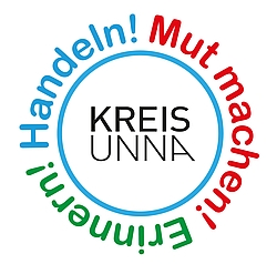 © Kreis Unna - Logo Demokratiejahr