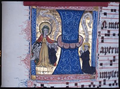 """©  - Kloster Paradiese Handschriften """"Schutzmantel-Madonna"""""""