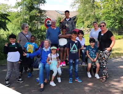 ©  - Viel Spaß hatten die LesePaten und die Kinder im Tierpark