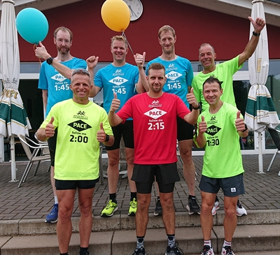 Halbmarathon: Pacemaker am Start