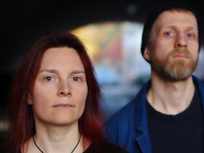 Katja Angenent und Andreas Wilmer