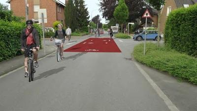 ©  - Lange Stiege wird zur Fahrradstraße umgestaltet!