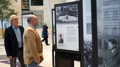 Ausstellung 75 Jahre Befreiung Auschwitz