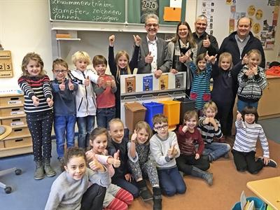 Abfalltrennung Schulen
