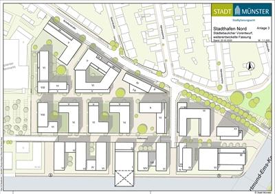 Städtebaulicher Vorentwurf