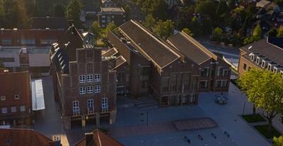 © Stadt Ahaus - Luftaufnahme Rathaus
