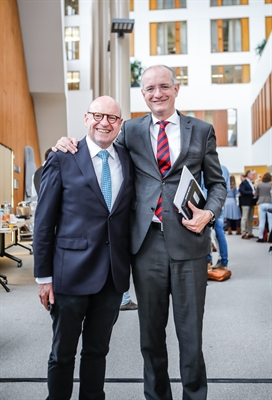 OB Markus Lewe und BM Onno van Veldhuizen