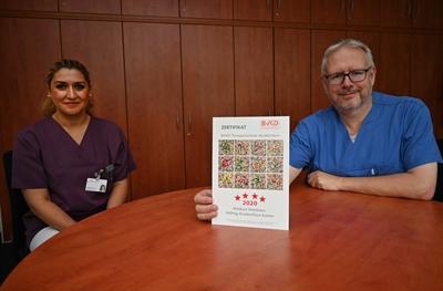 ©  - Vier Sterne für Diabeteszentrum in Kamen