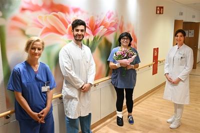 ©  - 100. Intervention an neuer Klinik