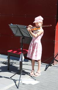 Open-Air-Konzert der Kreismusikschule