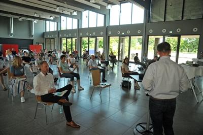 ©  - Bei der zweiten Bürgerversammlung im Quartier Fildeken - Rosenberg war die Teilnahme wieder gut - Foto: Bruno Wansing, Stadt Bocholt