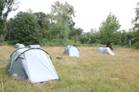 Übernachten im Zelt