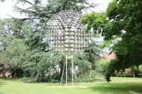 Skulptur im Park der Städtischen Galerie: Günter Haese - Optimus II (2006-2007)