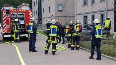© Feuerwehr Hemer - Kellerbrand Heinrich-Nuttebaum-Straße