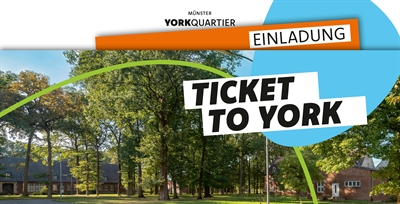 Postwurfsendung Ticket to York