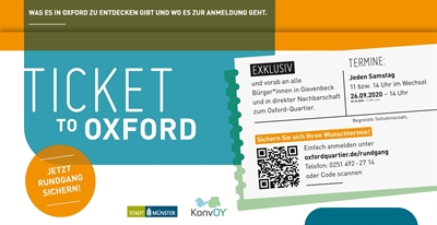 Postwurfsendung Ticket to Oxford