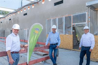 Baufortschritte im Bürgerbad