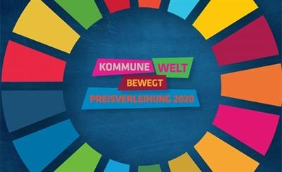 Logo Kommune bewegt Welt