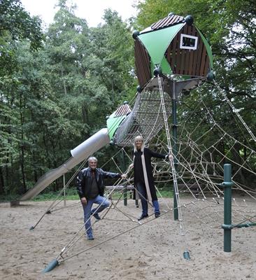 ©  - Naturnah und frisch saniert: Der Spielplatz im Ophovener Mühlenbachtal