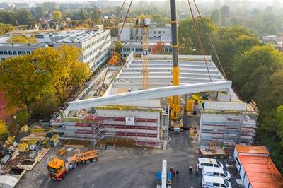 Neubau Dreifachsporthalle am Pascal-Gymnasium