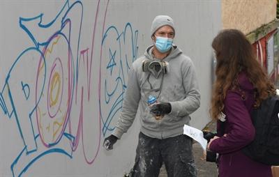 © Kreisstadt Unna/Ueberfeld - Graffiti3