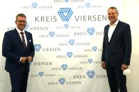 © Kreis Viersen - Landrat Dr. Andreas Coenen und Ingo Brohl, Landrat des Kreises Wesel