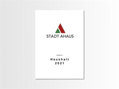 © Stadt Ahaus - m Rahmen der gestrigen Ratssitzung hat der Erste Beigeordnete und Kämmerer Hans-Georg Althoff den Haushaltsplanentwurf für das Jahr 2021 eingebracht.